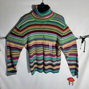 RELATIVITY TURTLENECK COLORFUL XL EXTRA COMFY